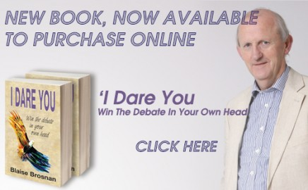 Book #3 is here! 'I Dare You! Win the Debate in Your Own Head'
