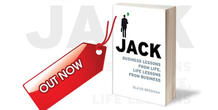 "Blaise Brosnan speaks about  his new book ""JACK"""